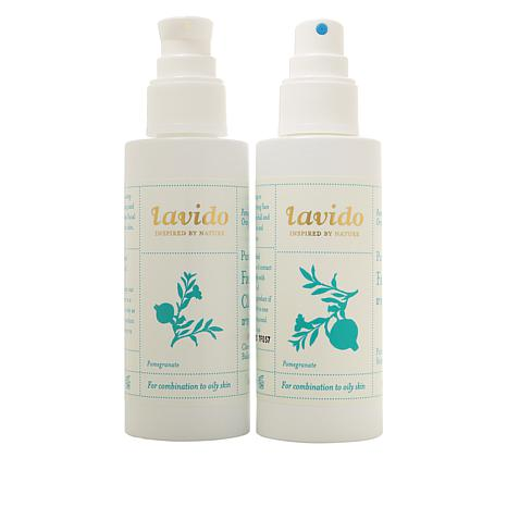 Lavido Purifying Facial Cleanser and Toner Set
