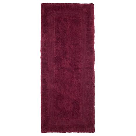 Lavish Home 100 Cotton Reversible Long Bath Rug 24 Quot X