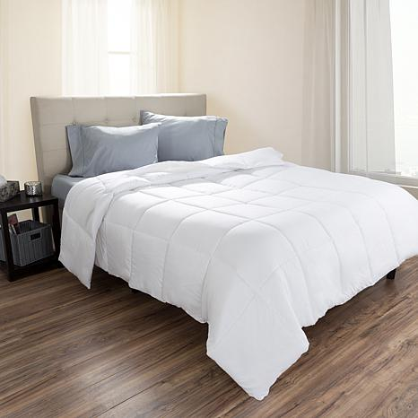 lavish home down alternative comforter fullqueen