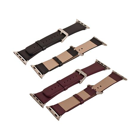 Leather Band 2-pack for 38mm Apple Watch®