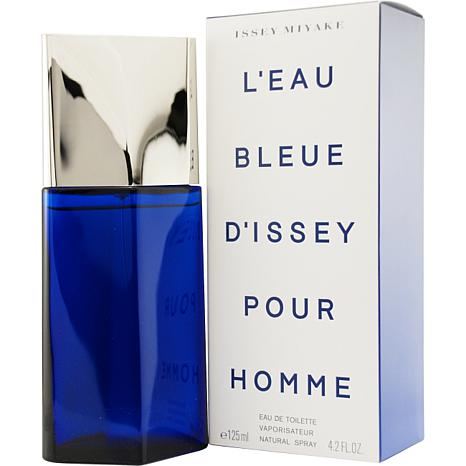 f0665a2172 Leau Bleue Dissey Pour Homme by Issey Miyake EDT Spray 4.2 oz for Men -  7679754 | HSN