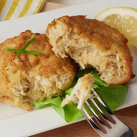 Legal Sea Foods 3 oz Gluten Free Crab Cakes with Lump Crab Meat