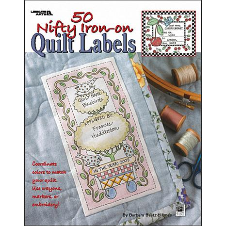 Leisure Arts' 50 Nifty Iron-On Quilt Labels