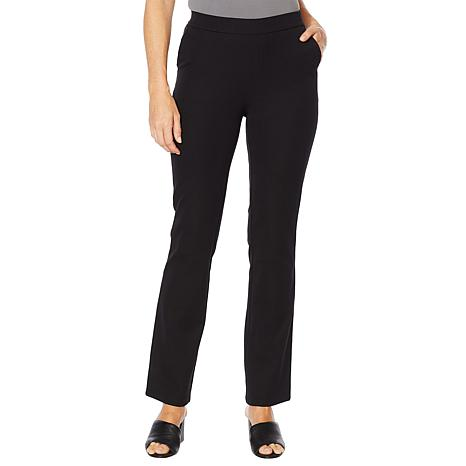 Lemon Way Flawless Twill Pull-On Bootcut Pant