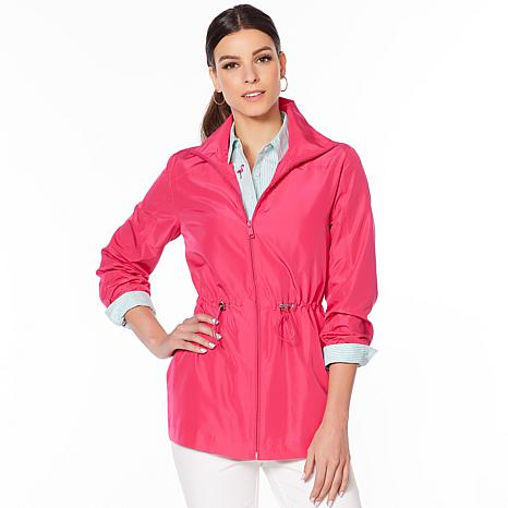 84ac0259 Lemon Way Water Resistant Packable Anorak Jacket - 8857503 | HSN
