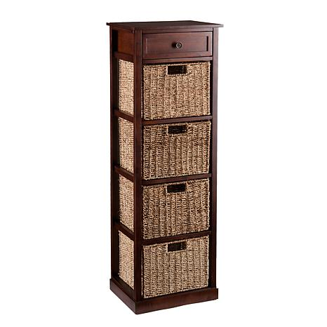 Lewis 4-Basket Storage Tower