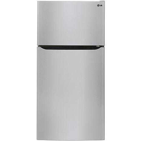LG 24 cu. ft. Top Mount Refrigerator - Stainless Steel