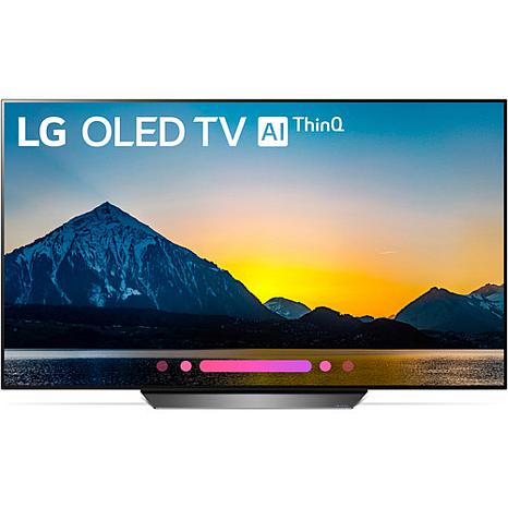 "LG 55"" B8 OLED 4K Ultra HD Smart TV w/Google Assistant and AI ThinQ"