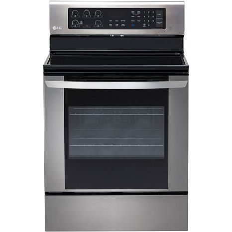LG 6.3 Cu. Ft. Electric Single Oven - Stainless Steel