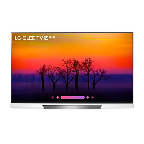 "LG 65"" 4K HDR Smart OLED E8PUA Series TV with AI ThinQ"