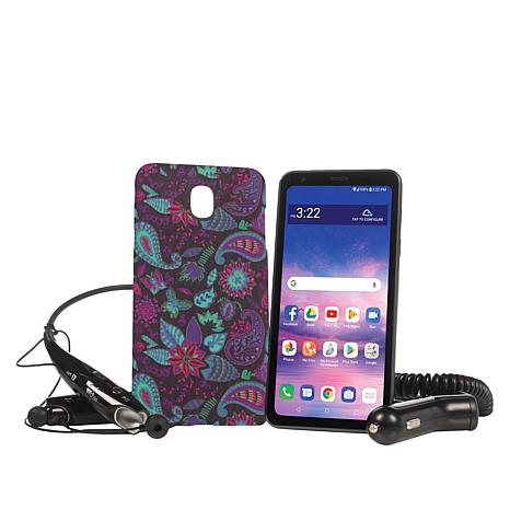"""LG Journey 5.45"""" HD+ Tracfone with Case and 1500 Min/Text/Data"""