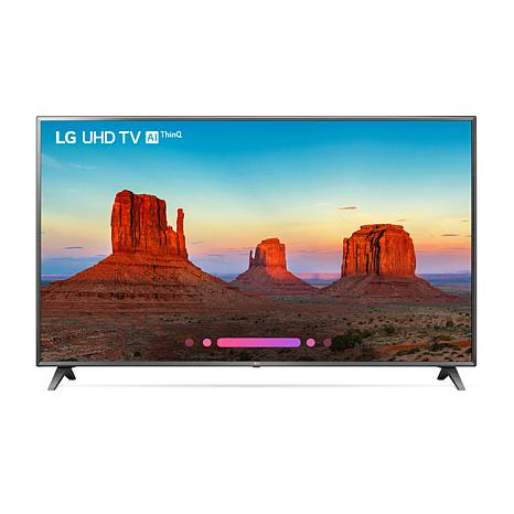 """LG UK6570 75"""" 4K UHD Smart TV with HDR and Voice Control"""