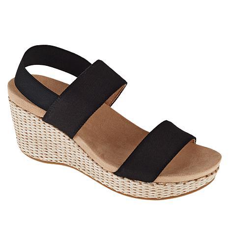 LifeStride Delta Woven Wedge Sandal