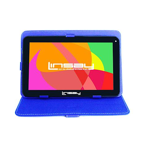 LINSAY 32BG Android 10 Tablet with Protective Case