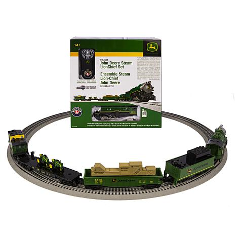 Lionel Trains John Deere  O-Gauge Train Set
