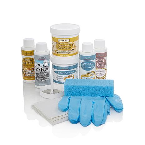 Liquid Gold and Silver Polishing and Plating Kit