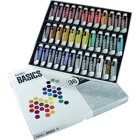 Liquitex 36-pack Basics Acrylic Paint - Assorted Colors