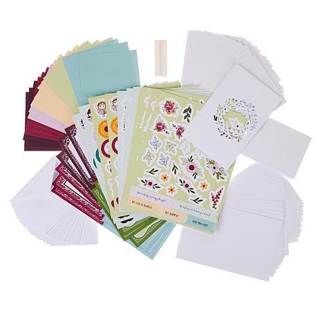 Little Darlings Fairy Garden Spinner Card Making Kit