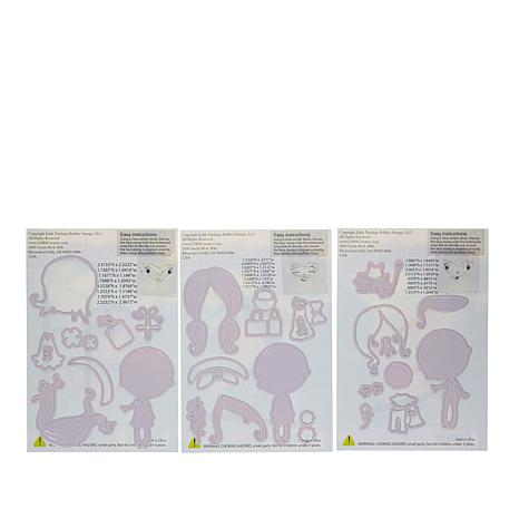 Little Darlings Polkadoodles Winnie Paper Piecing Kit