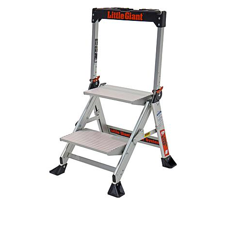 Little Giant 2-Step Jumbo Step Ladder