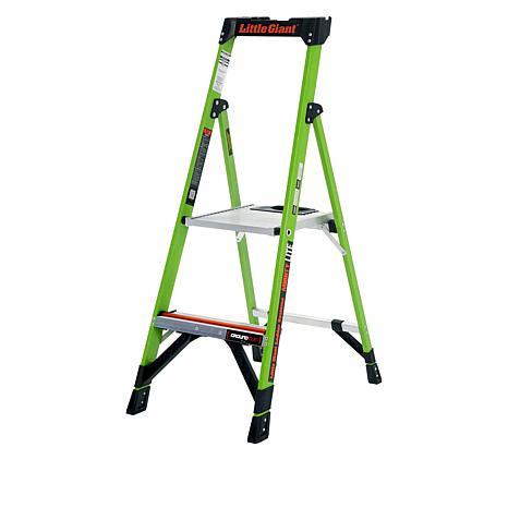 Little Giant MightyLite 4' Fiberglass Ladder