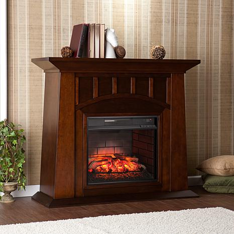 Lowery Infrared Electric Fireplace