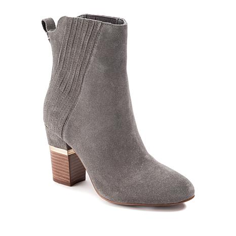 fbd9cd37e Lucca Lane Jadia Suede Fashion Bootie - 8822327