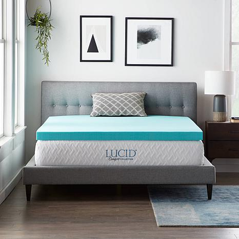 Lucid Comfort Collection 3 Quot Gel Memory Foam Mattress
