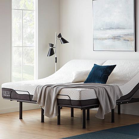 Lucid Refresh Split King Adjustable Bed Base