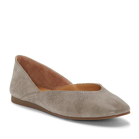 Lucky Brand Alba Leather Flat