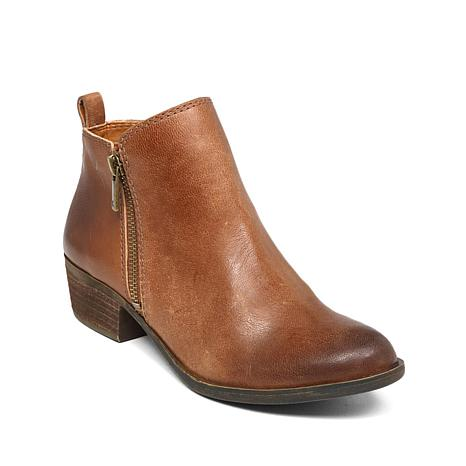 official photos 9af55 50884 Lucky Brand Basel Leather Bootie