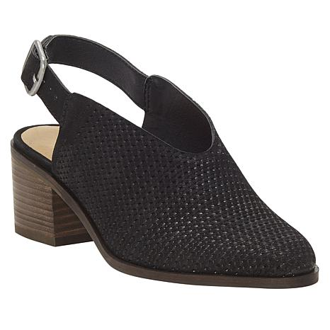 Lucky Brand Lideton Slingback Leather Shootie