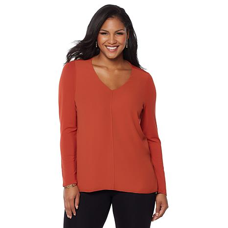 LYSSE Long-Sleeve Linden Top - Plus