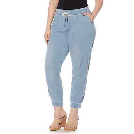 LYSSE Soft Denim Jogger - Plus
