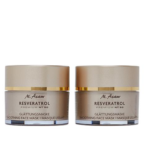 M. Asam 2-pack Resveratrol NT50 Smoothing Face Mask