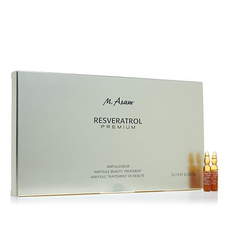 M. Asam® Resveratrol Premium Ampoule Beauty Treatment 28-Day Supply