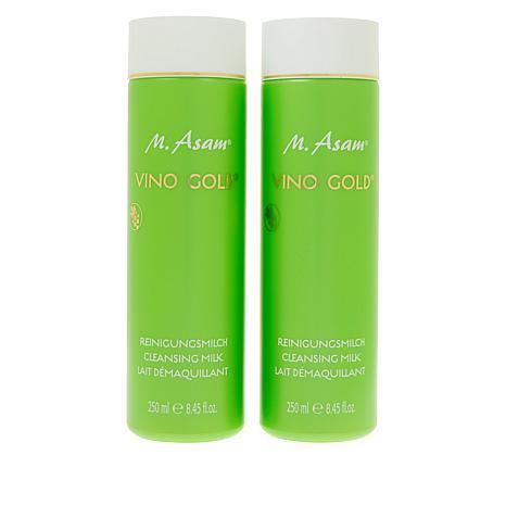 M. Asam® VINO GOLD® 8.45 fl. oz. Cleansing Milk Duo