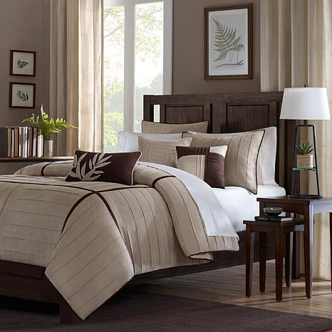 beige comforter set king Madison Park Dune Comforter Set California King Beige   7198123 | HSN beige comforter set king