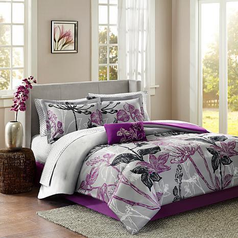 Madison Park Essentials Claremont Complete Bed Set-Full