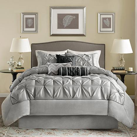 f8e2c45c15 Madison Park Gray Laurel Comforter Set - King - 7903329