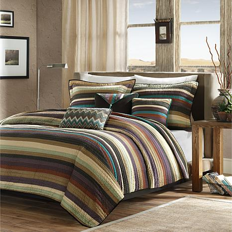 Madison Park Yosemite King/Cal King  Quilted 6-piece Coverlet Set -...