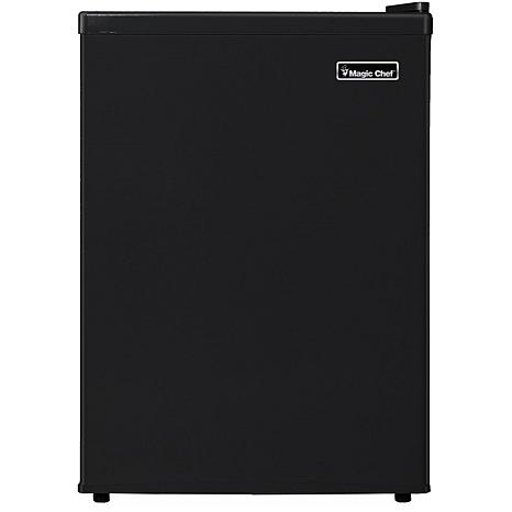 Magic Chef 2.4 Cu. Ft. Mini Refrigerator w/Half-Width Freezer Compa...