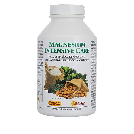 Magnesium Intensive Care - 500 Capsules