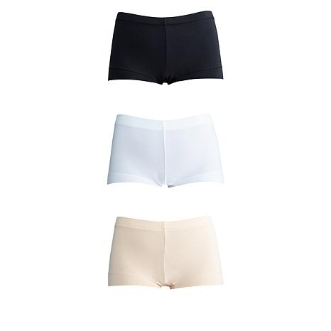 Maidenform 3-pack Cotton Blend Full Coverage Boy Short