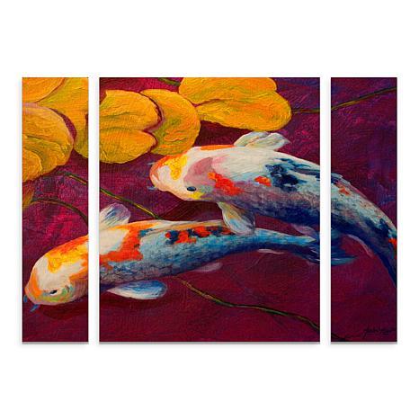 "Marion Rose ""Fish"" Multi-Panel Art Set - 24"" x 32"""