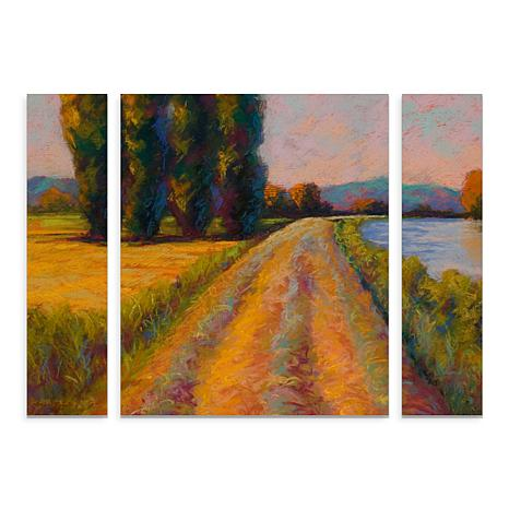 "Marion Rose ""The Levee"" Multi-Panel Art Set - 24"" x 32"""