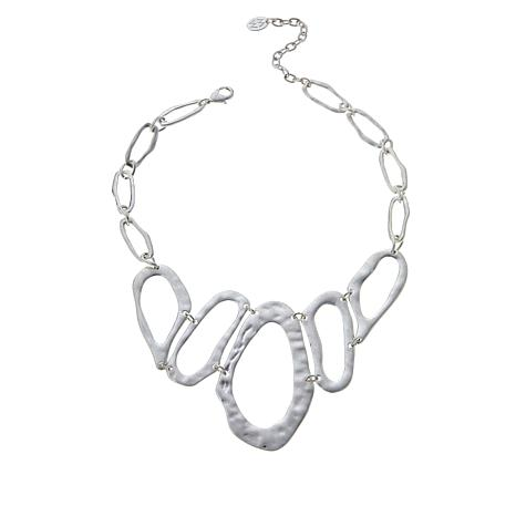"MarlaWynne 18"" Abstract Collar Necklace"