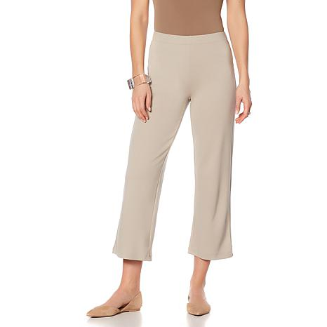 MarlaWynne Cropped Lightweight Ponte Pant