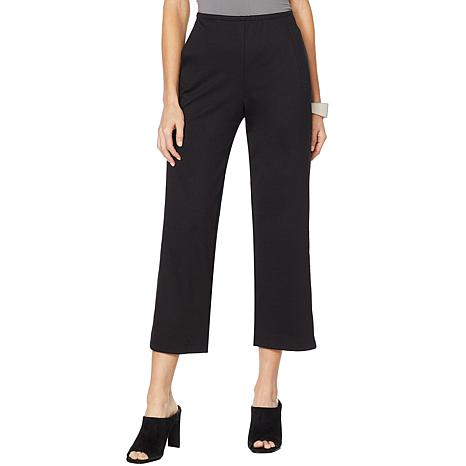 MarlaWynne Cropped Ponte Pant