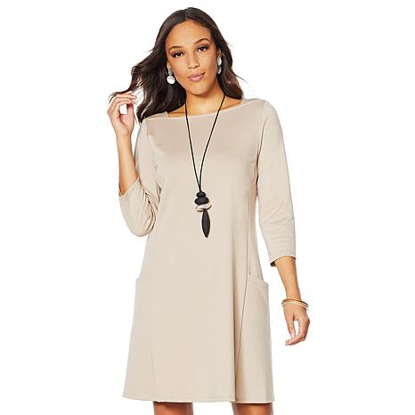 MarlaWynne Front Pocket Tunic Dress